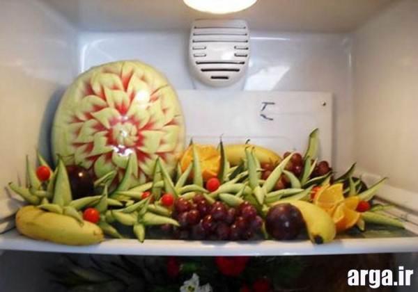 تزیینات میوه برای یخچال عروس
