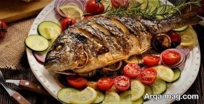 روش تهیه ماهی شکم پر بدون فر