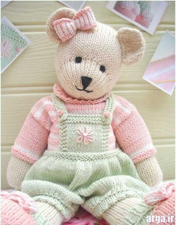 عروسک بافتنی خرس