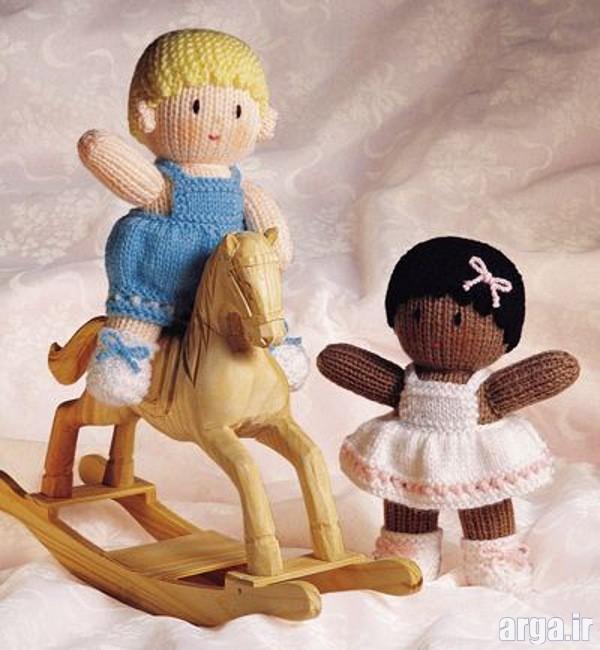 عروسک های بافتنی با قلاب