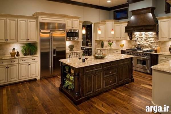 دکوراسیون آشپزخانه بزرگ