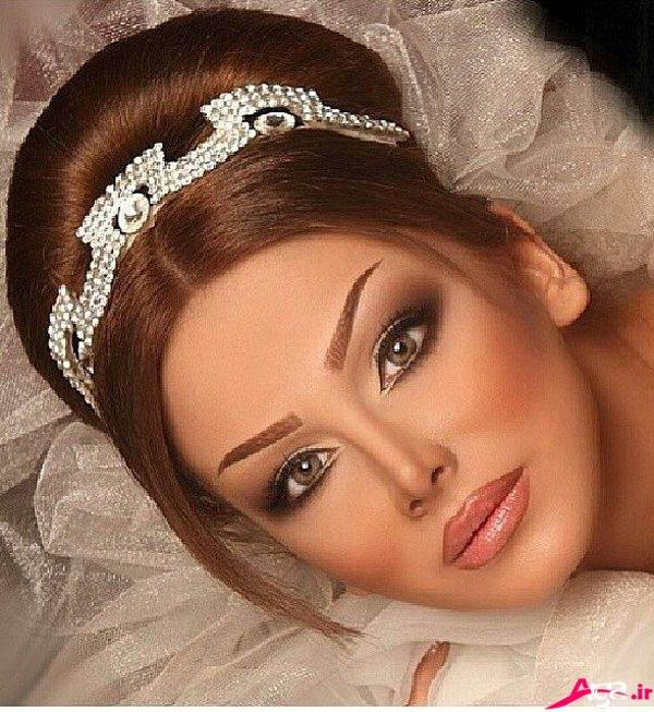 مدل آرایش صورت عروس ایرانی
