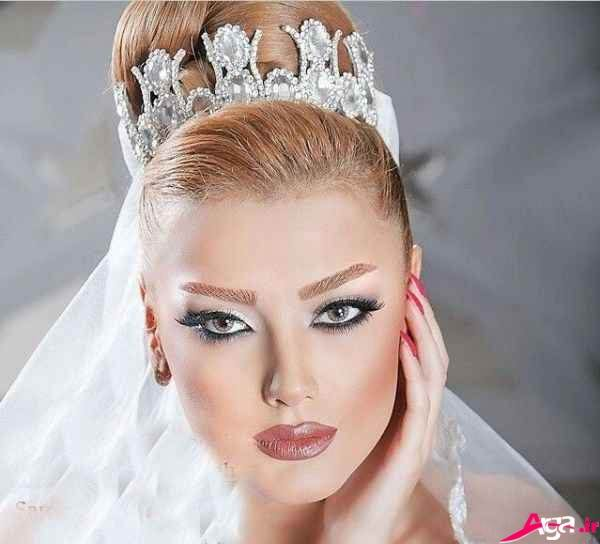 آرایش صورت عروس ایرانی