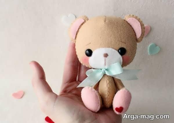 ساخت عروسکهای نمدی جذاب
