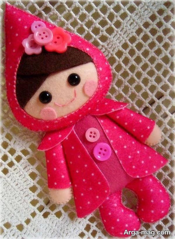 ساختن عروسک نمدی