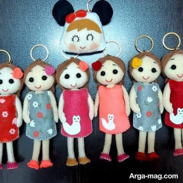 تصاویری از انواع عروسک نمدی
