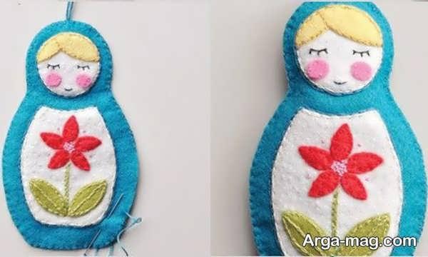 درست کردن انواع عروسک نمدی