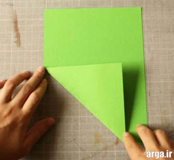 ساخت فرفره با کاغذ