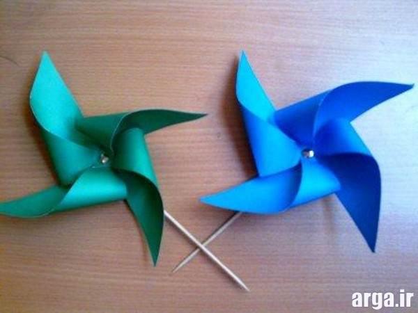 خلاقیت با کاغذ برای کودکان