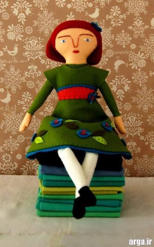 مدل عروسک نمدی
