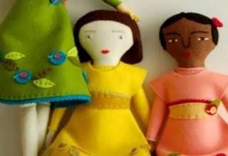 ساخت عروسک نمدی