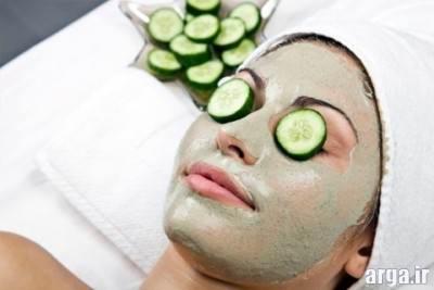 ماسک خیار برای پوست چرب