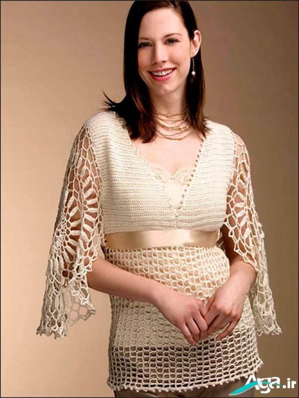 مدل لباس قلاب بافی