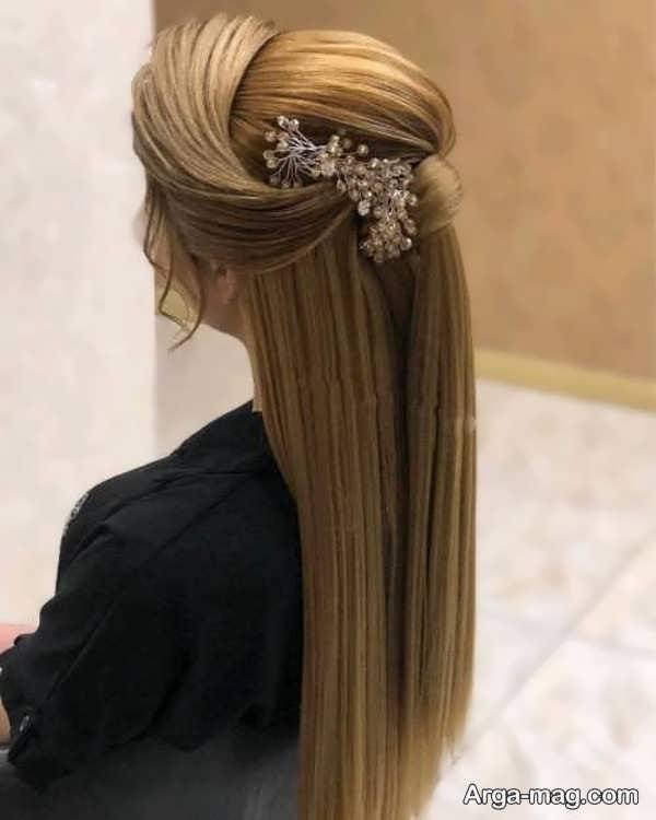 مدل آرایش موی باز دخترانه