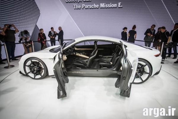 عکس چهارم پورشه مدل mission-e