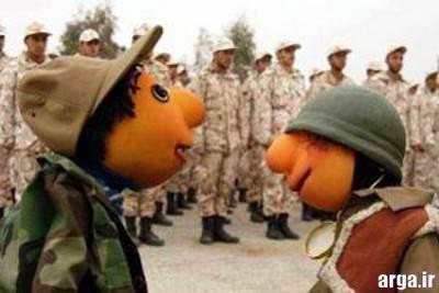 سربازی رفتن پسرها