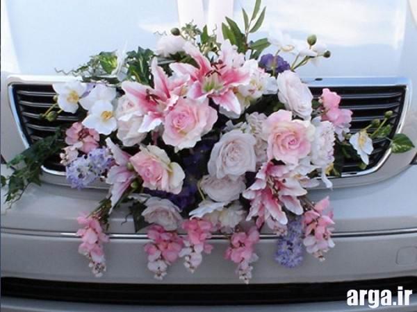 تزیین ماشین عروس شیک
