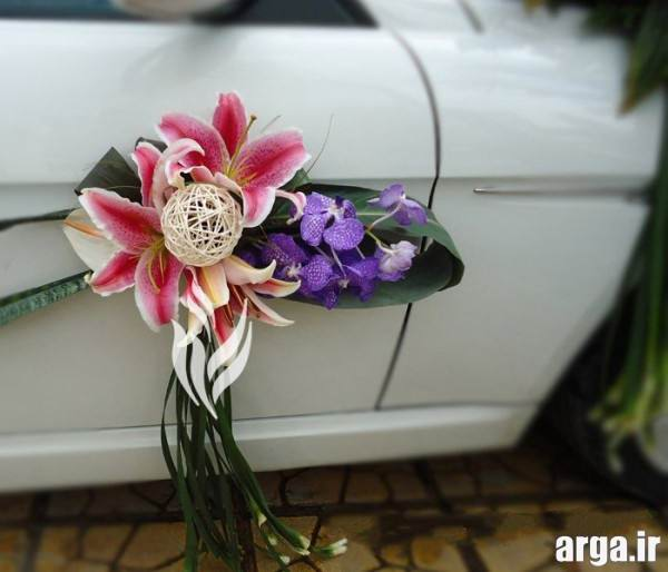 مدل ماشین عروس ایرانی