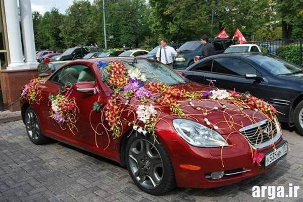 مدل ماشین عروس قرمز