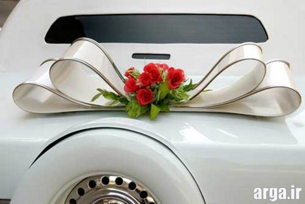ماشین عروس با پاپیون