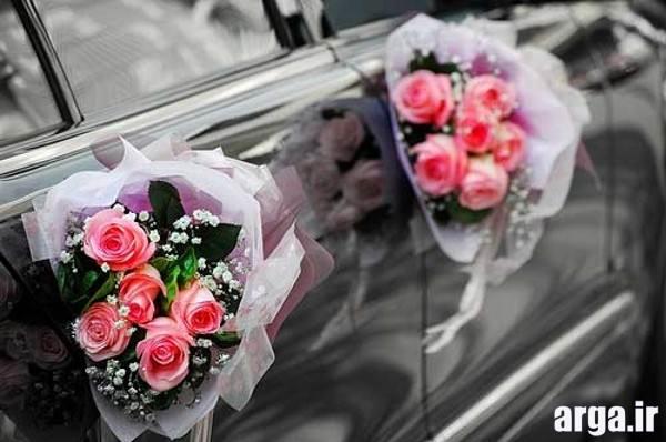 تیینات شیک و زیبای ماشین عروس