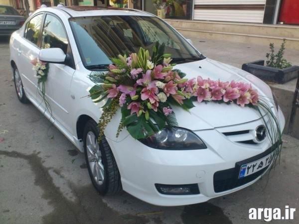 تزیینات ماشین عروس شیک