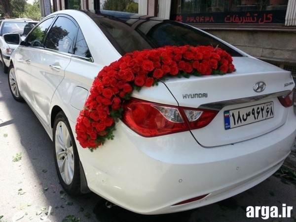 تزیینات ماشین عروس جدید