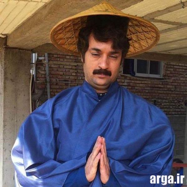 مهران فر در لباس چینی ها