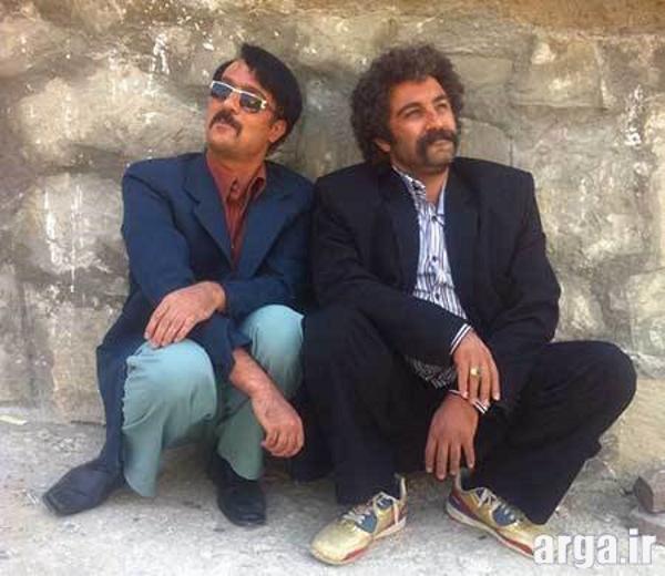 مهران فر در کنار محسن تنابنده