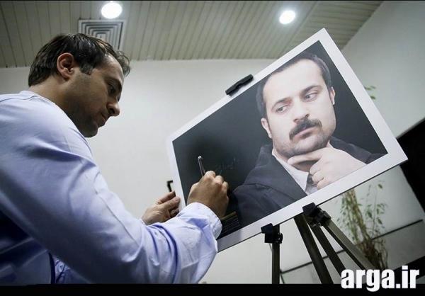 احمد مهران فر در تصویری جالب