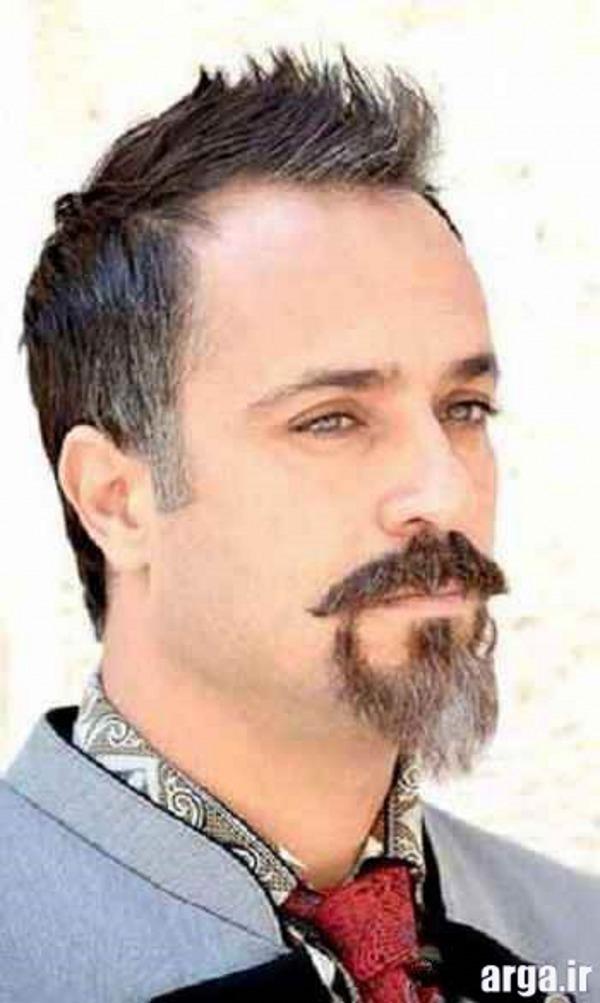 احمد مهران فر در گریمی متفاوت