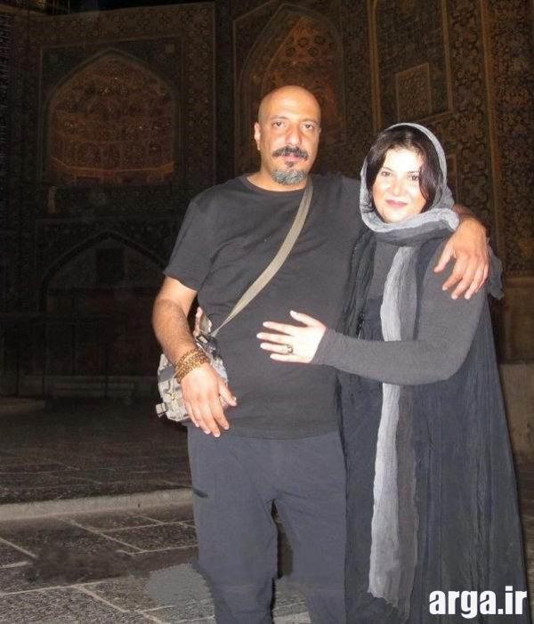 عکس دو نفره جعفری و همسرش