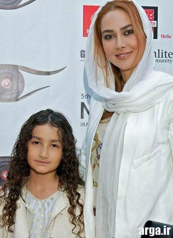 نعمتی و دخترش