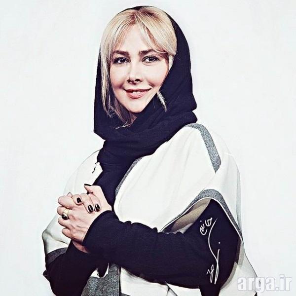 آناهیتا نعمتی در تیپ جدید