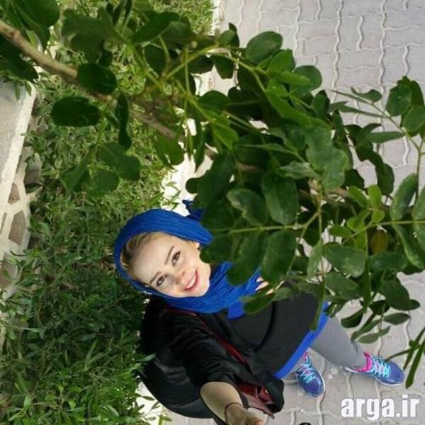 عکس سلفی الناز حبیبی