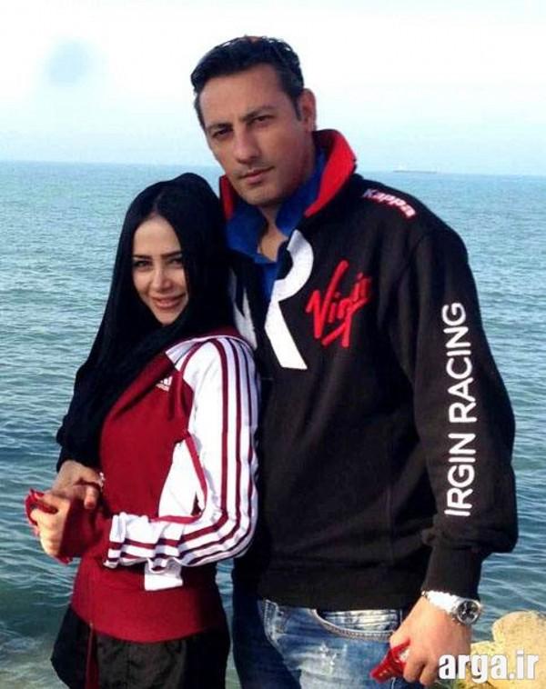تصویری دیگر از حبیبی و همسرش