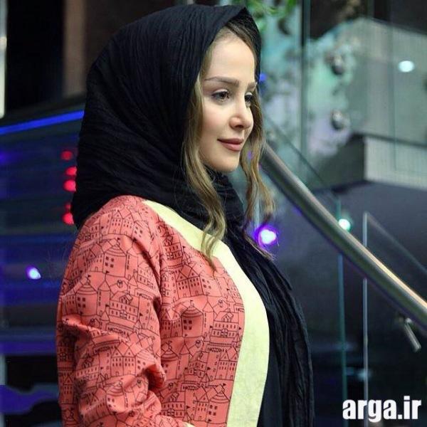 تصویر نیم رخ الناز حبیبی