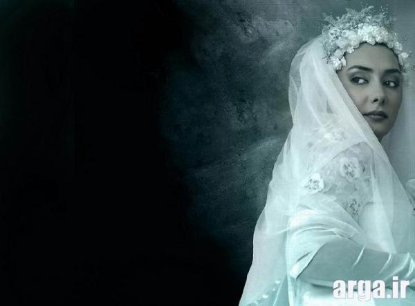توسلی با لباس عروس