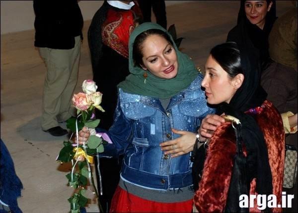 هدیه تهرانی در کنار مهناز افشار