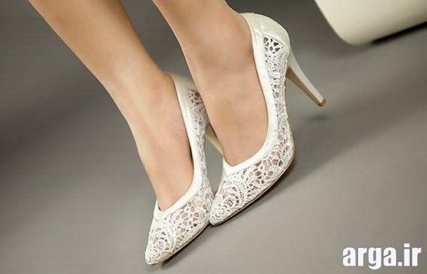 کفش شیک عروس