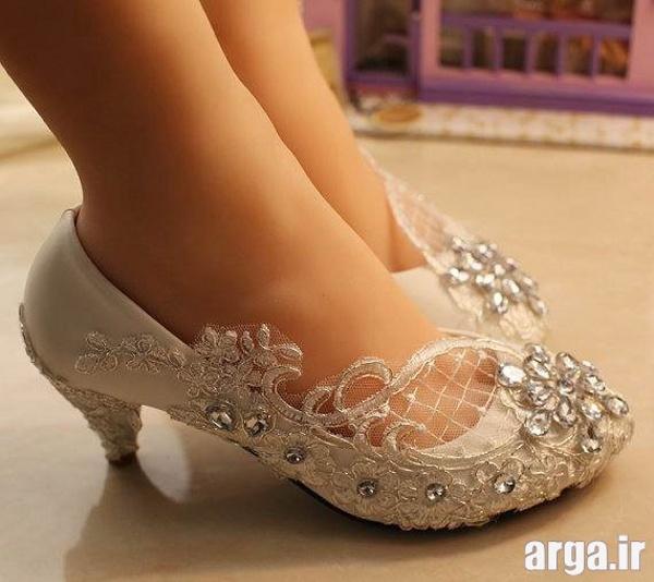 انواع جدید از کفش عروس