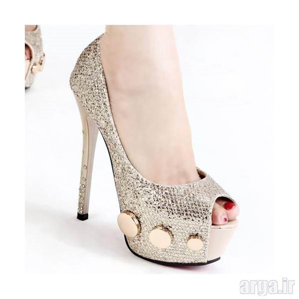 انواع شیک از کفش عروس
