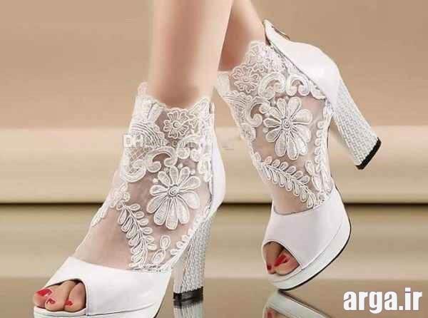 انواع مدرن از کفش عروس