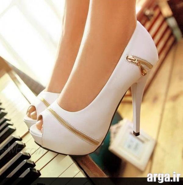 انواع جذاب از کفش عروس