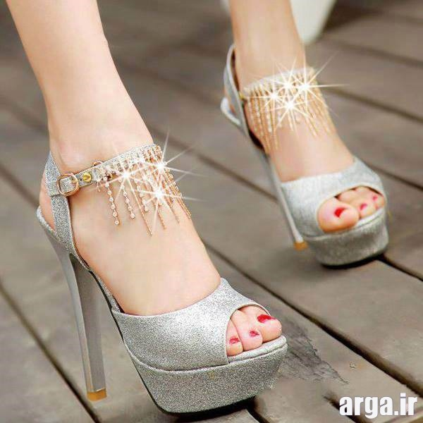 مدل کفش عروس جذاب