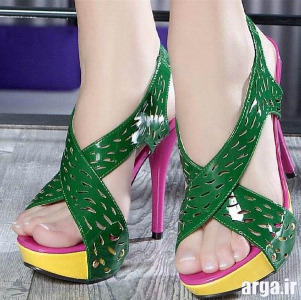 کفش پاشنه بلند دخترانه جذاب