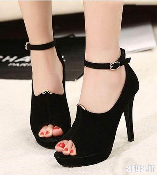 کفش های دخترانه پاشنه بلند جدید
