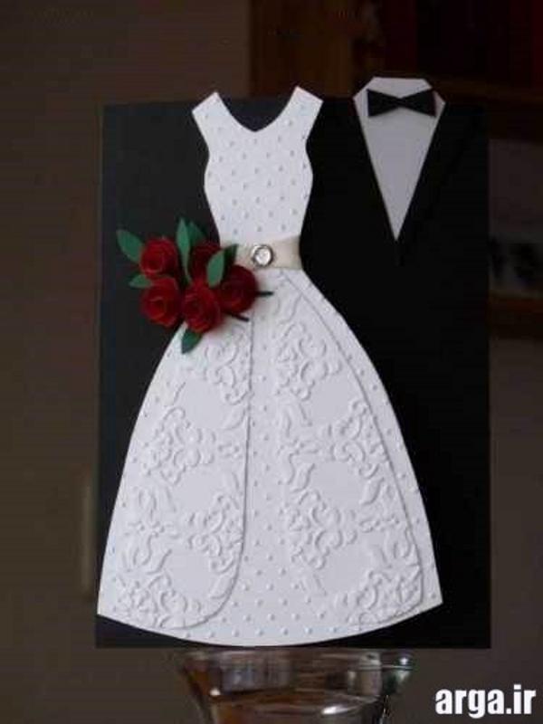 مدل کارت عروسی فانتزی جدید