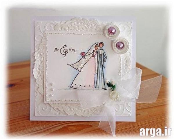 کارت عروسی فانتزی جذاب