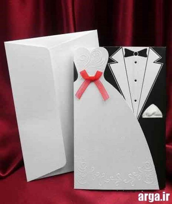 کارت های شیک فانتزی عروسی